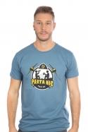 náhled - Parta hic modré pánské tričko