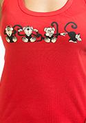 náhled - Opice dámské tílko