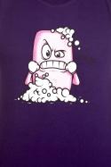 náhled - Zmydlím tě fialové pánské tričko