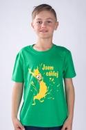 náhled - Cáklej zelené dětské tričko