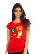 náhled - Kiwi červené dámské tričko