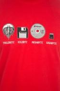 náhled - Trilobite červené pánské tričko