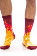 náhled - Nohy v plamenech ponožky