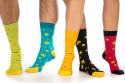 náhled - Smajlíci set 5 párů ponožek