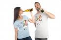 náhled - Piju jak duha dámské BIO tričko