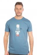náhled - Ti šlehnu modré pánské tričko