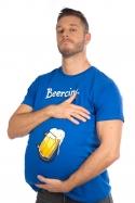náhled - Beercing modré pánské tričko