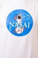 náhled - Nasaj bílé pánské tričko