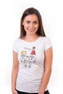 náhled - Pokecáme dámské tričko
