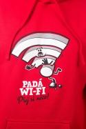 náhled - Padá wi-fi pánská mikina