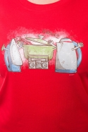 náhled - Paříme dámské BIO tričko