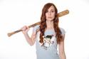náhled - Zoubková víla sv. modré dámské tričko