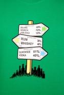 náhled - Rozcestník zelené pánské tričko