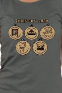 náhled - Turistika 2020 dámské tričko