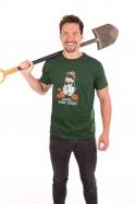 náhled - Krtek zahradník pánské tričko