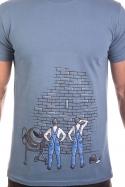 náhled - Zedníci modré pánské tričko