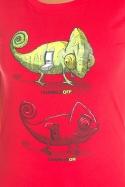 náhled - Zapnuto vypnuto dámské BIO tričko