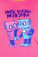 náhled - Roboti dámské tričko