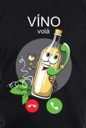 náhled - Bílé víno volá pánské tričko