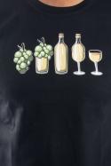 náhled - Evoluce bílého vína pánské tričko