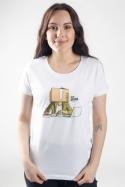 náhled - Jsem bedna dámské BIO tričko