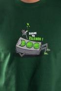 náhled - Na zelenou pánské tričko