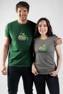 náhled - Na zelenou dámské tričko