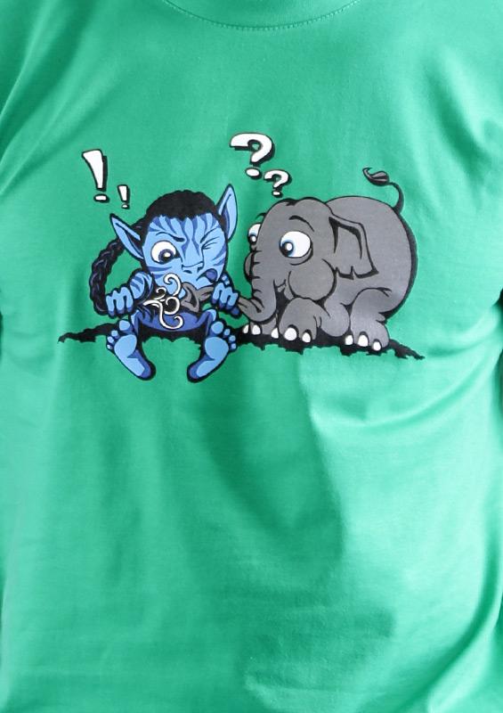 f4e38f1ef7b ... náhled - Error 501 zelené pánské tričko