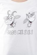 náhled - Kozy bílé dámské tričko