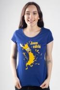 náhled - Cáklá modré dámské tričko