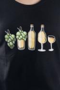 náhled - Evoluce bílého vína dámské tričko