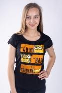 náhled - Hodný zlý a banán dámské tričko