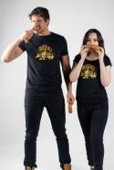 náhled - Čuňdr černé dámské tričko