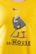 náhled - Dr. House žluté dámské tričko