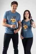 náhled - Piváti z Kalibiku modré dámské tričko
