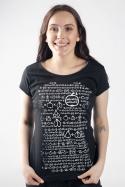 náhled - Matematik dámské tričko