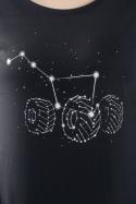 náhled - Velký vůz černé dámské tričko