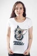 náhled - Čivava bílé dámské tričko
