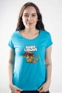 náhled - Doba libová modré dámské tričko