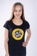 náhled - Drž úhel černé dámské tričko