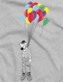 náhled - Irony šedé pánské tričko