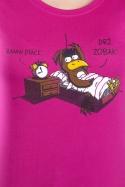 náhled - Ranní ptáče dámské tričko