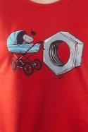 náhled - Správná matka červené dámské tričko