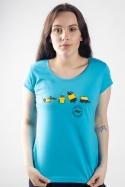 náhled - Testováno na zvířatech dámské tričko