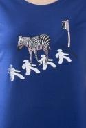 náhled - Zebra dámské tričko