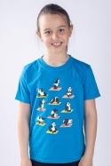 náhled - Pandí jóga dětské tričko