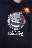 náhled - Mám se bombově pánská mikina
