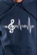 náhled - Žiju muzikou pánská mikina