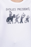 náhled - Evoluce prezidentů dámské tričko