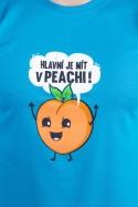 náhled - V peachi pánské tričko